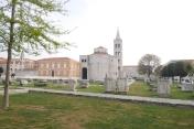 Forum et Eglise Sainte-Marie