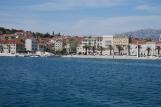 Split vue depuis la mer