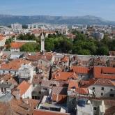 Vue de Split depuis le campanile