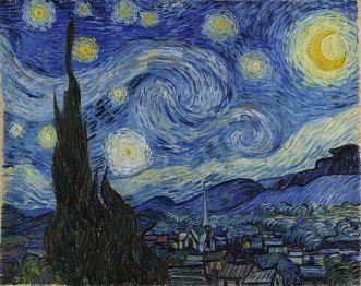 Van Gogh La Nuit étoilée